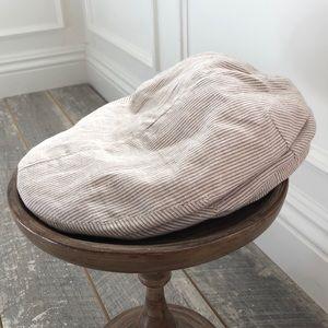 Brixton Linen Cap